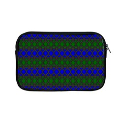 Diamond Alt Blue Green Woven Fabric Apple Macbook Pro 13  Zipper Case by Mariart