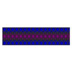 Diamond Alt Blue Purple Woven Fabric Satin Scarf (oblong) by Mariart