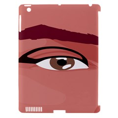 Eye Difficulty Red Apple Ipad 3/4 Hardshell Case (compatible With Smart Cover) by Mariart