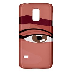 Eye Difficulty Red Galaxy S5 Mini by Mariart
