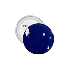 Flag Star Blue Green Yellow 1 75  Buttons by Mariart