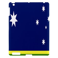 Flag Star Blue Green Yellow Apple Ipad 3/4 Hardshell Case by Mariart