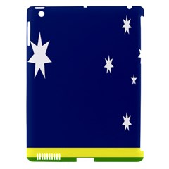 Flag Star Blue Green Yellow Apple Ipad 3/4 Hardshell Case (compatible With Smart Cover) by Mariart