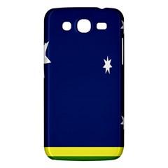 Flag Star Blue Green Yellow Samsung Galaxy Mega 5 8 I9152 Hardshell Case  by Mariart