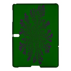 Dendron Diffusion Aggregation Flower Floral Leaf Green Purple Samsung Galaxy Tab S (10 5 ) Hardshell Case  by Mariart