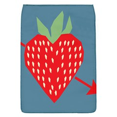Fruit Red Strawberry Flap Covers (s)  by Mariart