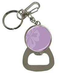 Hibiscus Sakura Lavender Herb Purple Button Necklaces by Mariart