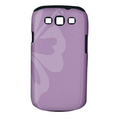 Hibiscus Sakura Lavender Herb Purple Samsung Galaxy S Iii Classic Hardshell Case (pc+silicone) by Mariart