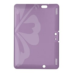 Hibiscus Sakura Lavender Herb Purple Kindle Fire Hdx 8 9  Hardshell Case by Mariart
