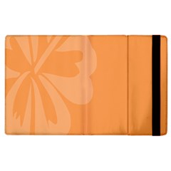Hibiscus Sakura Tangerine Orange Apple Ipad 2 Flip Case by Mariart