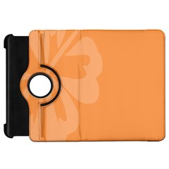 Hibiscus Sakura Tangerine Orange Kindle Fire Hd 7  by Mariart