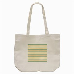 Horizontal Line Yellow Blue Orange Tote Bag (cream) by Mariart