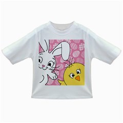 Easter Bunny And Chick  Infant/toddler T Shirts by Valentinaart