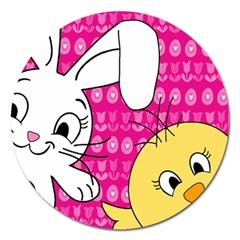 Easter Magnet 5  (round) by Valentinaart