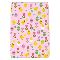 Easter - chick and tulips Flap Covers (L)  by Valentinaart
