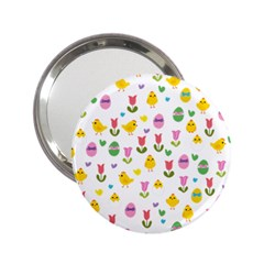Easter   Chick And Tulips 2 25  Handbag Mirrors by Valentinaart