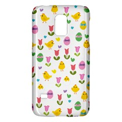 Easter   Chick And Tulips Galaxy S5 Mini by Valentinaart