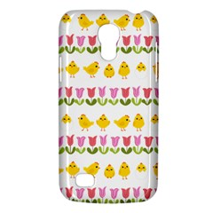 Easter   Chick And Tulips Galaxy S4 Mini by Valentinaart