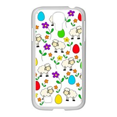 Easter Lamb Samsung Galaxy S4 I9500/ I9505 Case (white) by Valentinaart