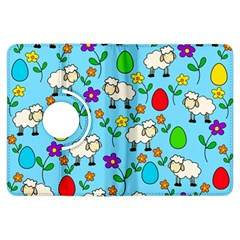 Easter Lamb Kindle Fire Hdx Flip 360 Case by Valentinaart