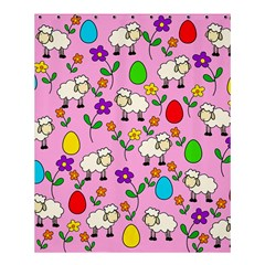 Easter Lamb Shower Curtain 60  X 72  (medium)  by Valentinaart
