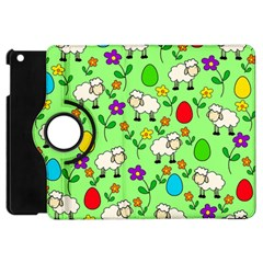 Easter Lamb Apple Ipad Mini Flip 360 Case by Valentinaart
