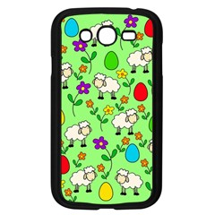 Easter Lamb Samsung Galaxy Grand Duos I9082 Case (black) by Valentinaart