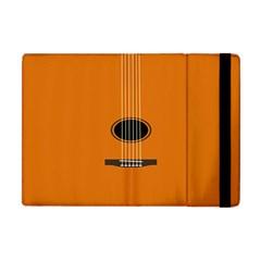 Minimalism Art Simple Guitar Apple Ipad Mini Flip Case by Mariart