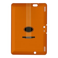 Minimalism Art Simple Guitar Kindle Fire Hdx 8 9  Hardshell Case by Mariart