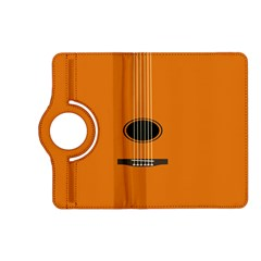 Minimalism Art Simple Guitar Kindle Fire Hd (2013) Flip 360 Case by Mariart