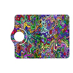 Colorful Abstract Paint Rainbow Kindle Fire Hd (2013) Flip 360 Case by Mariart