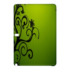 Illustration Wallpaper Barbusak Leaf Green Samsung Galaxy Tab Pro 12.2 Hardshell Case by Mariart