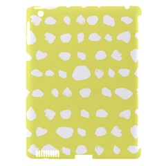 Polkadot White Yellow Apple Ipad 3/4 Hardshell Case (compatible With Smart Cover) by Mariart