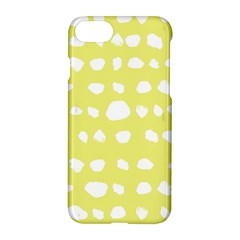 Polkadot White Yellow Apple Iphone 7 Hardshell Case by Mariart