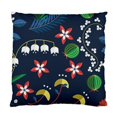 Origami Flower Floral Star Leaf Standard Cushion Case (two Sides) by Mariart