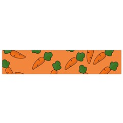 Carrot Pattern Flano Scarf (small) by Valentinaart
