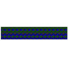 Split Diamond Blue Green Woven Fabric Flano Scarf (large) by Mariart