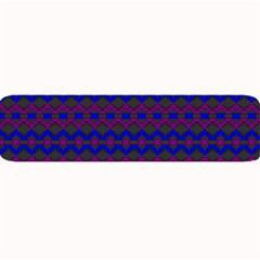 Split Diamond Blue Purple Woven Fabric Large Bar Mats by Mariart