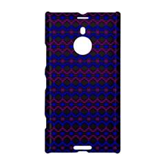 Split Diamond Blue Purple Woven Fabric Nokia Lumia 1520 by Mariart