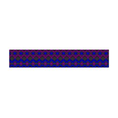 Split Diamond Blue Purple Woven Fabric Flano Scarf (mini) by Mariart