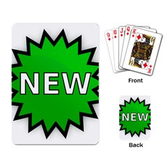 New Icon Sign Playing Card by Mariart