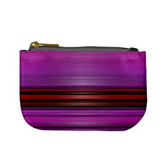 Stripes Line Red Purple Mini Coin Purses by Mariart