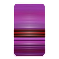 Stripes Line Red Purple Memory Card Reader by Mariart