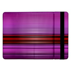 Stripes Line Red Purple Samsung Galaxy Tab Pro 12.2  Flip Case by Mariart