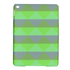 Squares Triangel Green Yellow Blue Ipad Air 2 Hardshell Cases by Mariart