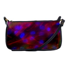 Vaccine Blur Red Shoulder Clutch Bags by Mariart