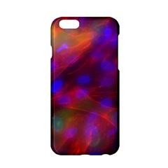 Vaccine Blur Red Apple Iphone 6/6s Hardshell Case by Mariart