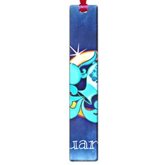 Zodiac Aquarius Large Book Marks by Mariart