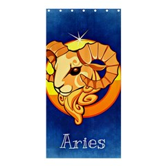 Zodiac Aries Shower Curtain 36  X 72  (stall)  by Mariart