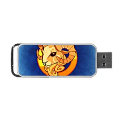 Zodiac Aries Portable Usb Flash (two Sides) by Mariart